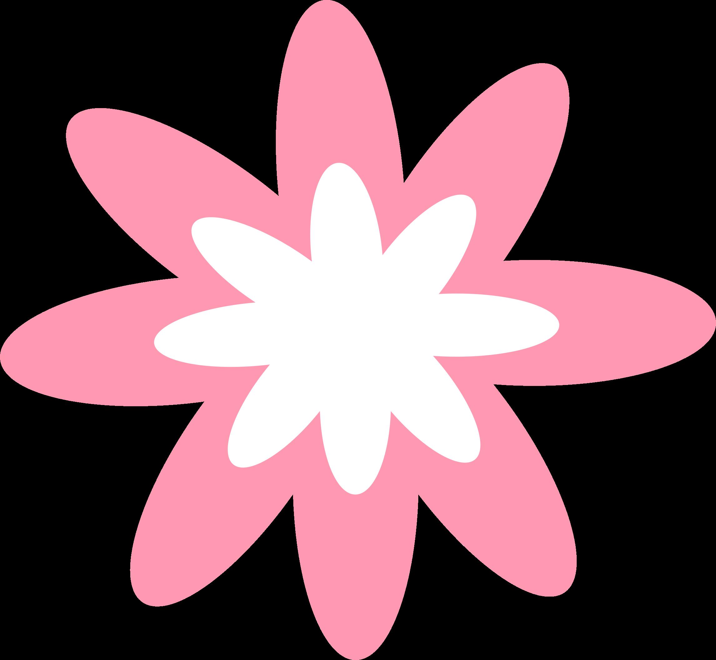 Burst flower icons png. Clipart design pink