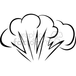 Burst flame royalty free. Explosion clipart black and white