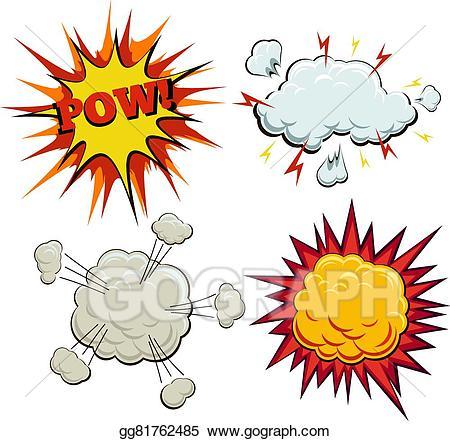 Clip art vector boom. Burst clipart pow