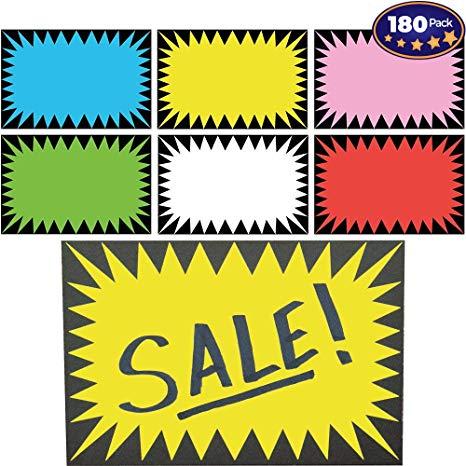 Retail genius sign pack. Burst clipart price tag