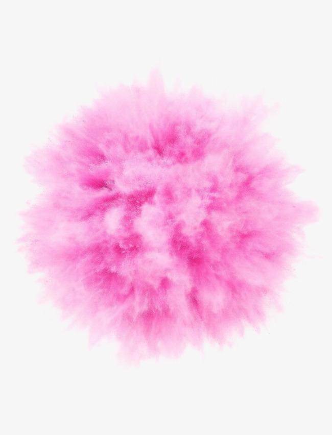 Particle element explosion pink. Burst clipart purple