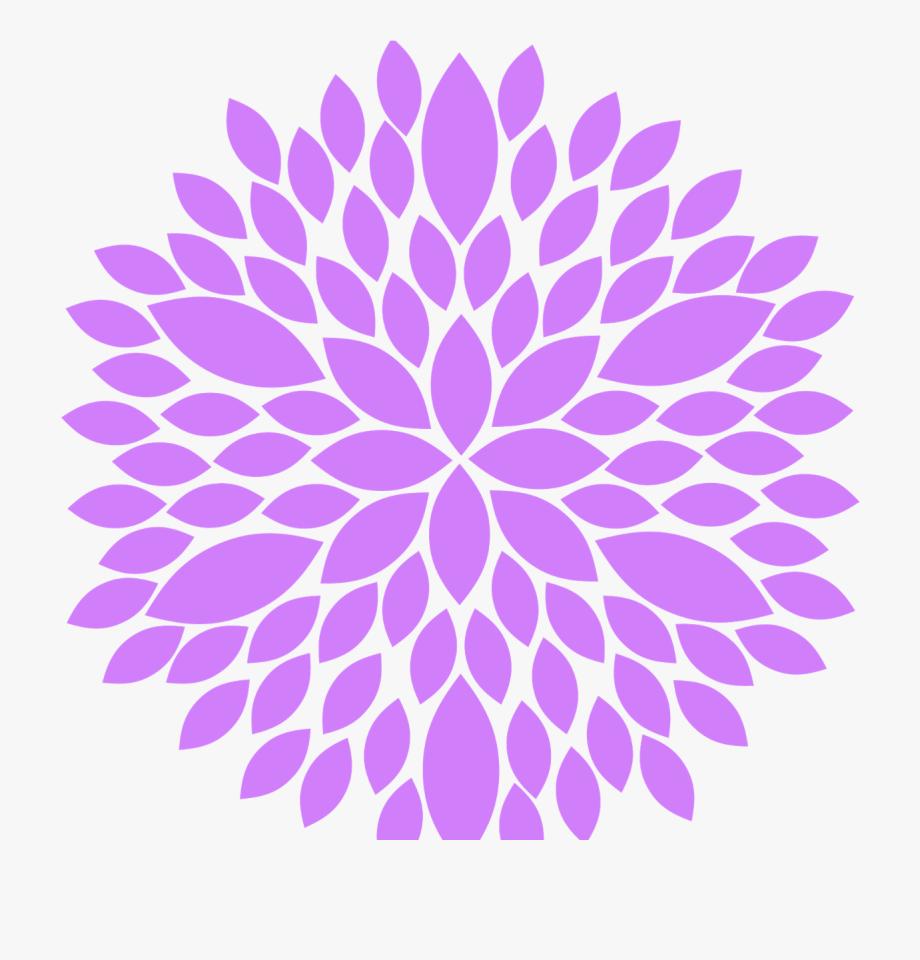Burst clipart purple. Transparent download flower black