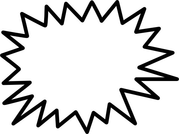Burst clipart shape. Star pictures free download