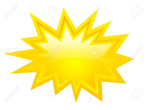 Star free images at. Burst clipart shape