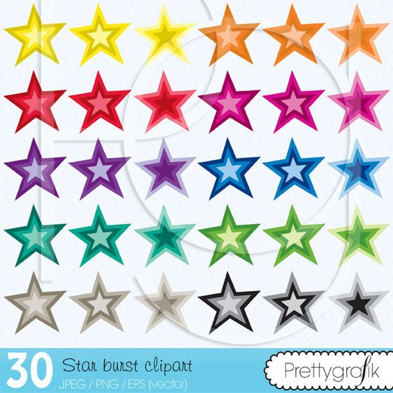 Burst clipart special star. Buy get commercial use