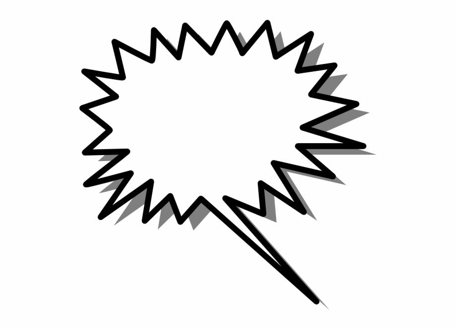 Sunburst clip art speech. Burst clipart spiky