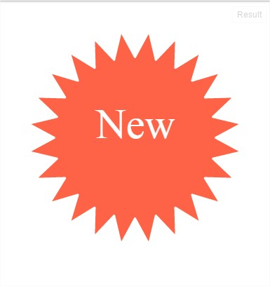 Jquery creating a new. Burst clipart spiky