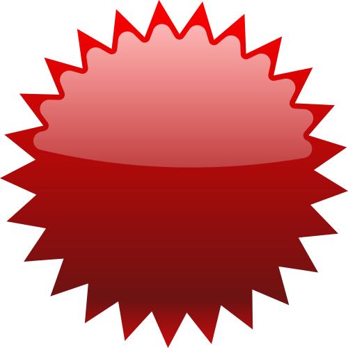 Star blank red blanks. Burst clipart starburst