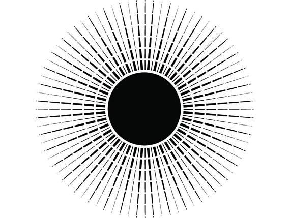 Burst clipart sun burst. Sunburst light rays sunshine