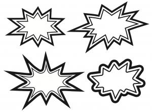 Burst clipart superhero. Downloadable printables beginning of