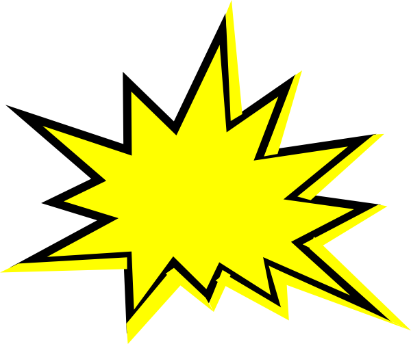 Burst clipart yellow. Free cliparts download clip