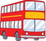 Bus clipart. Free clip art pictures