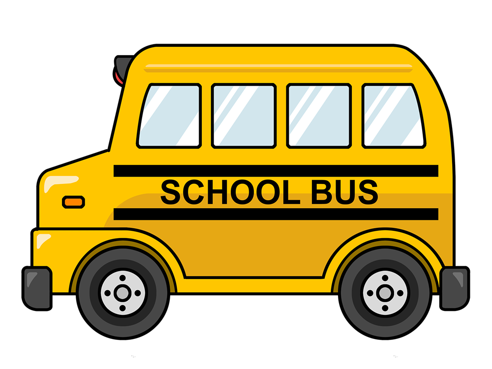 Clipart bus. Free clip art school