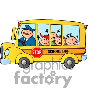 Bus clipart animated. School