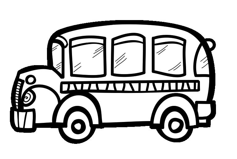 School black and clipartix. White clipart bus