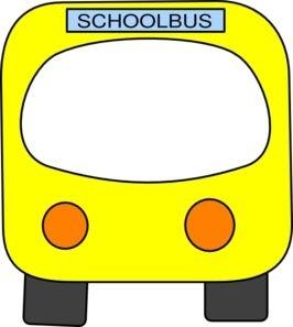 School clip art kind. Bus clipart border