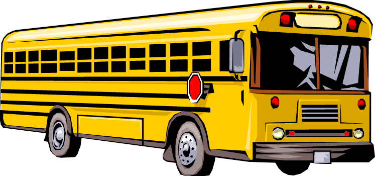 Bus clipart bus trip. Winter transportation announcement eagles