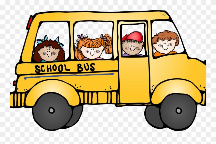 Bus clipart bus trip. Girl school field no