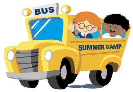 Bus clipart camp. Sending kids to summer