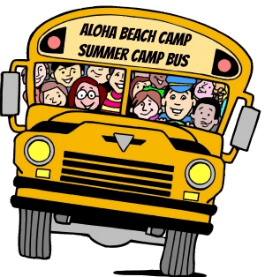 Bus clipart camp. Los angeles beach camps