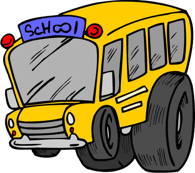 Bus clipart cartoon. Free animated cliparts download