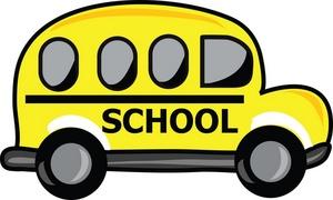 Free image car yellow. Bus clipart cartoon