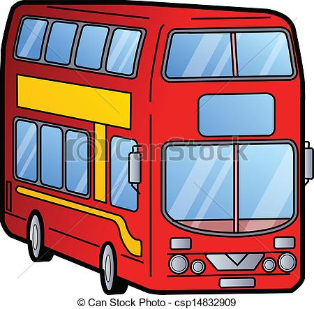 Double decker drawing at. Bus clipart cartoon