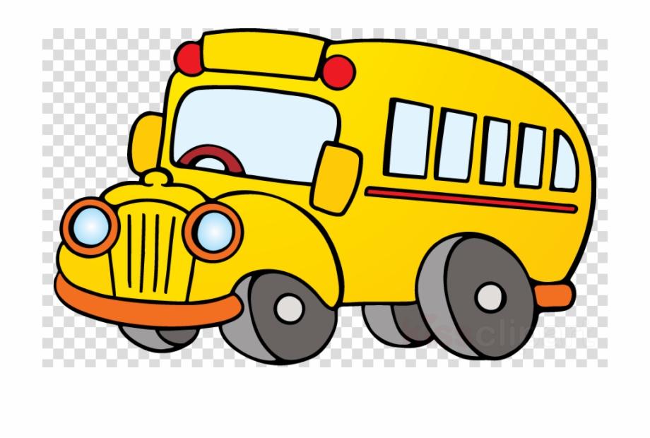 Png school clip art. Bus clipart cartoon