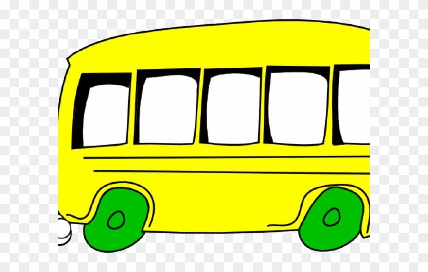Food black and white. Bus clipart cartoon