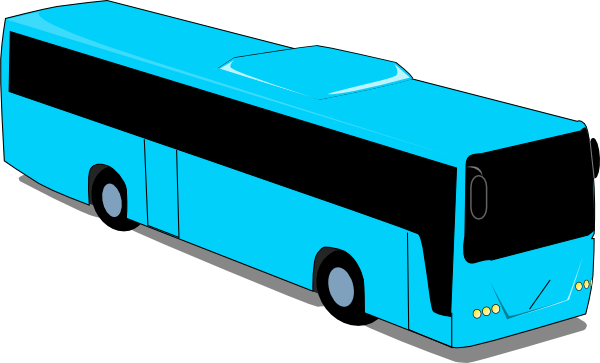 Bus clipart charter bus. Free