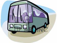 Bus clipart charter bus. Travel clip art pinterest