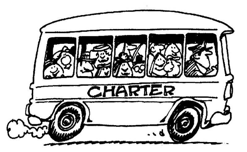 Bus clipart charter bus. Vix and more cnbc