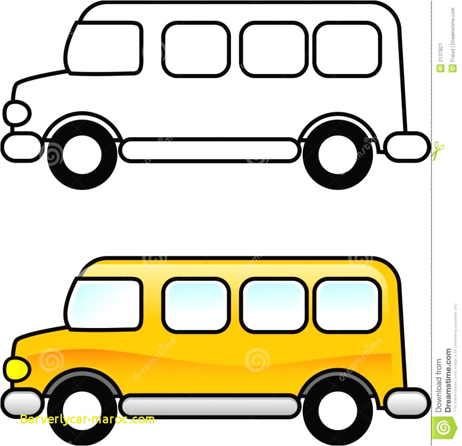 Bus clipart color. Crafts for school new