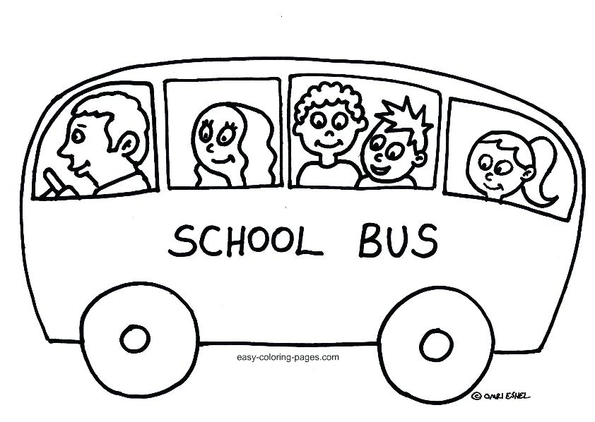 Bus clipart color. School drawing at getdrawings