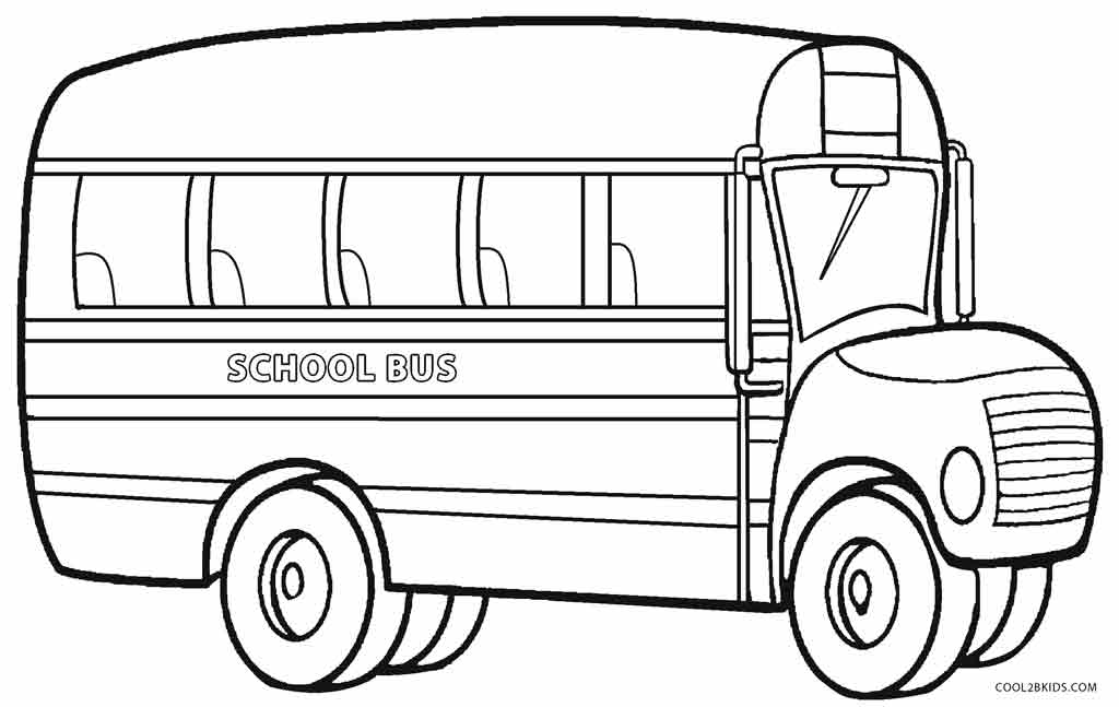 Enjoyable coloring pages of. Bus clipart color