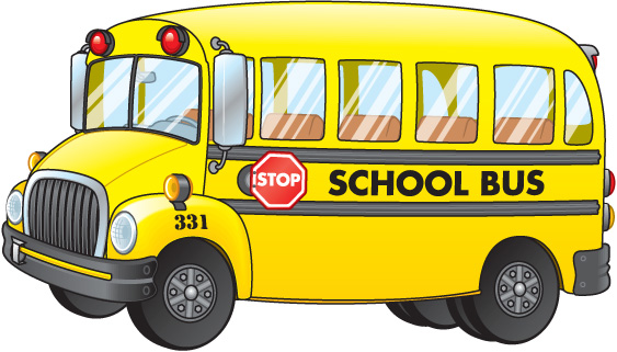 Black and white free. Bus clipart color