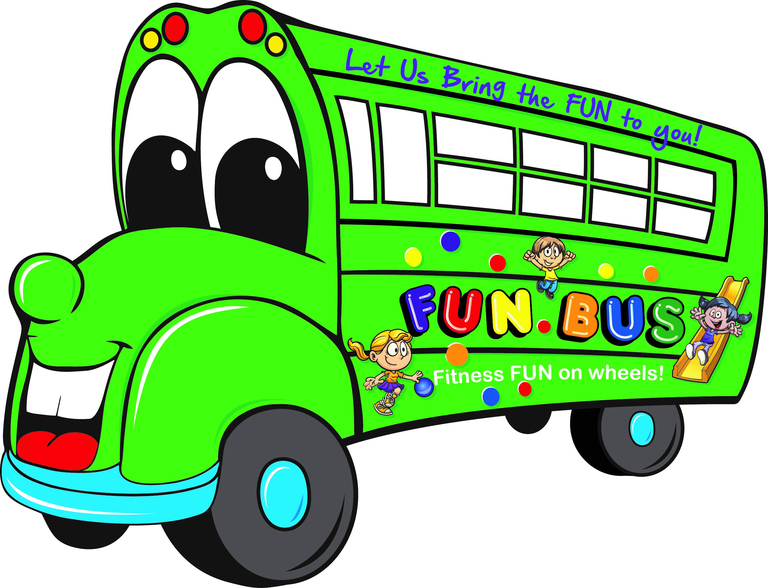 Party free download best. Bus clipart cute