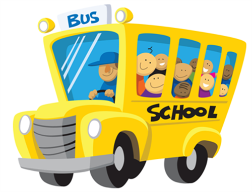 Image of school clip. Bus clipart cute