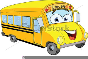 School free images at. Bus clipart cute