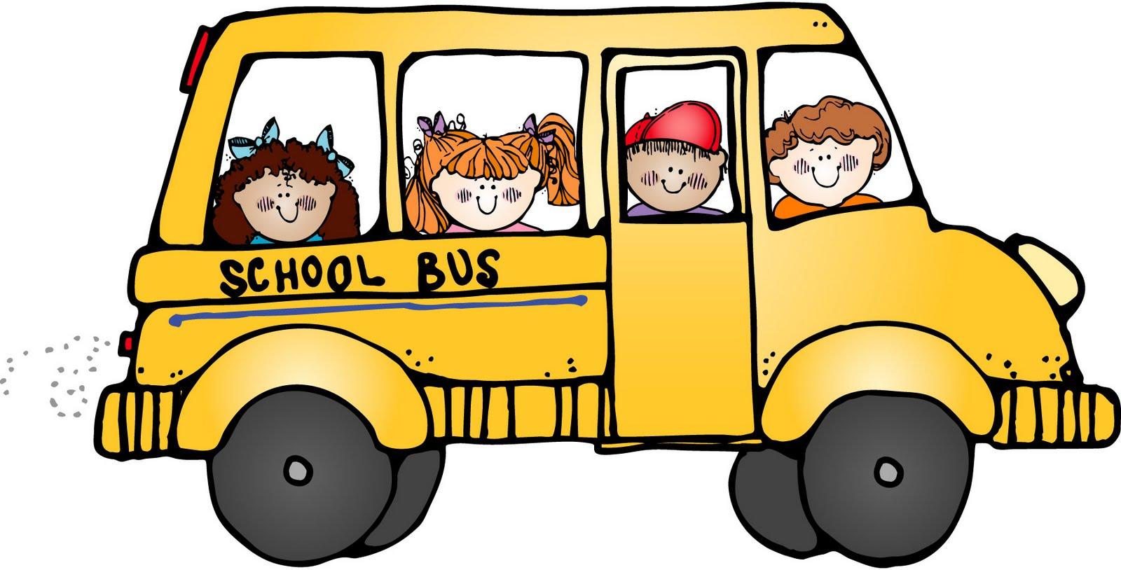 School clip art free. Bus clipart cute