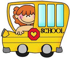 . Bus clipart cute
