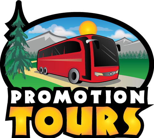 Promotion tours and vacations. Bus clipart day trip