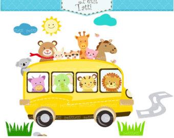 Bus clipart day trip. On sale car animal