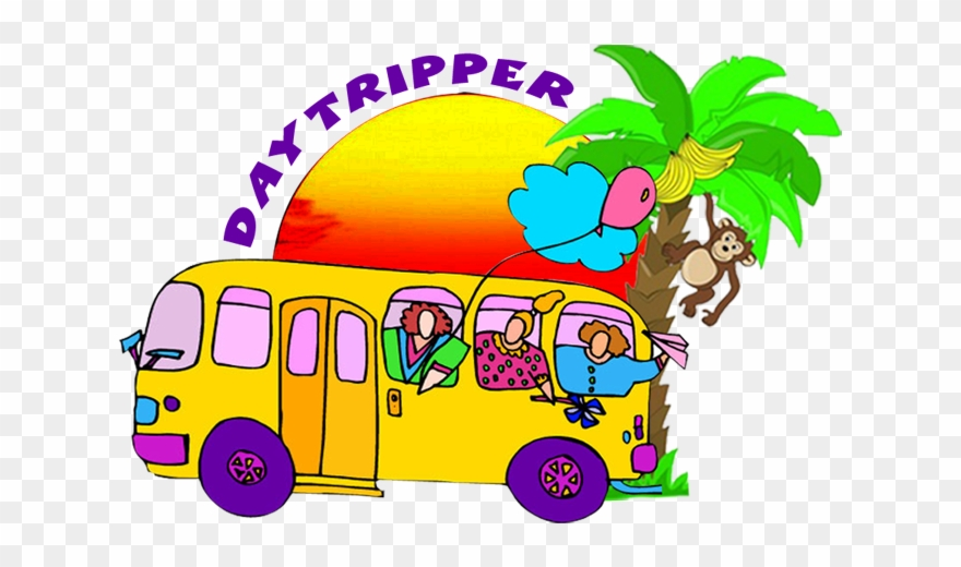 Bus clipart day trip. Daytripper welcome to pinclipart