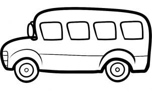 How to draw a. Bus clipart easy