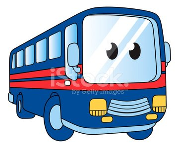 Cartoon with premium clipartlogo. Clipart bus face