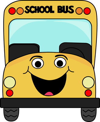 Clipart bus face. Cartoon school all occasion