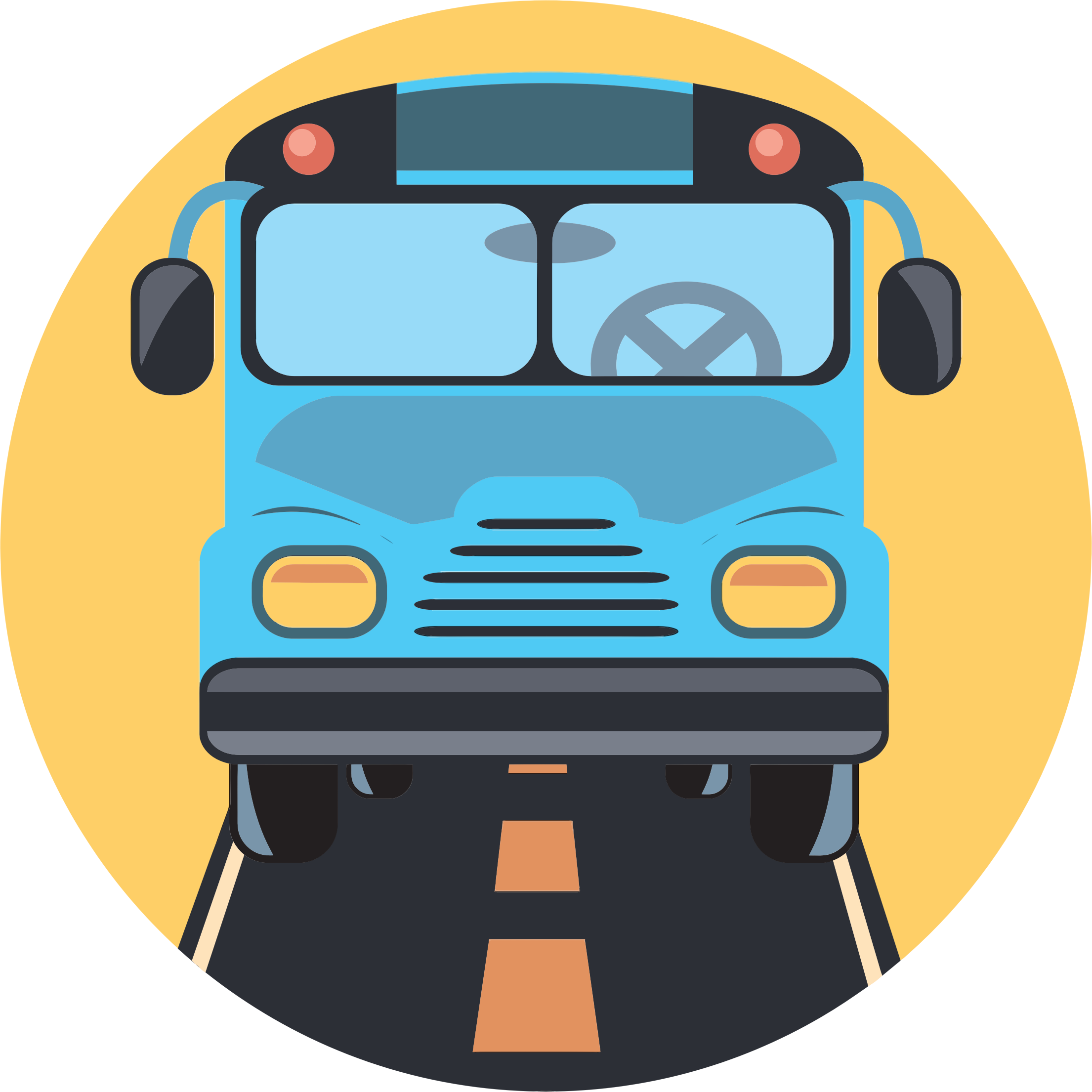 Bus clipart icon. Big image png