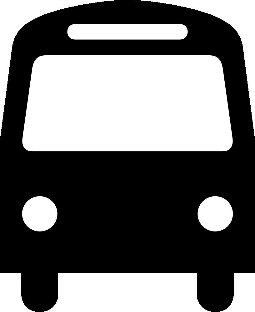 Onlinelabels clip art aiga. Bus clipart icon