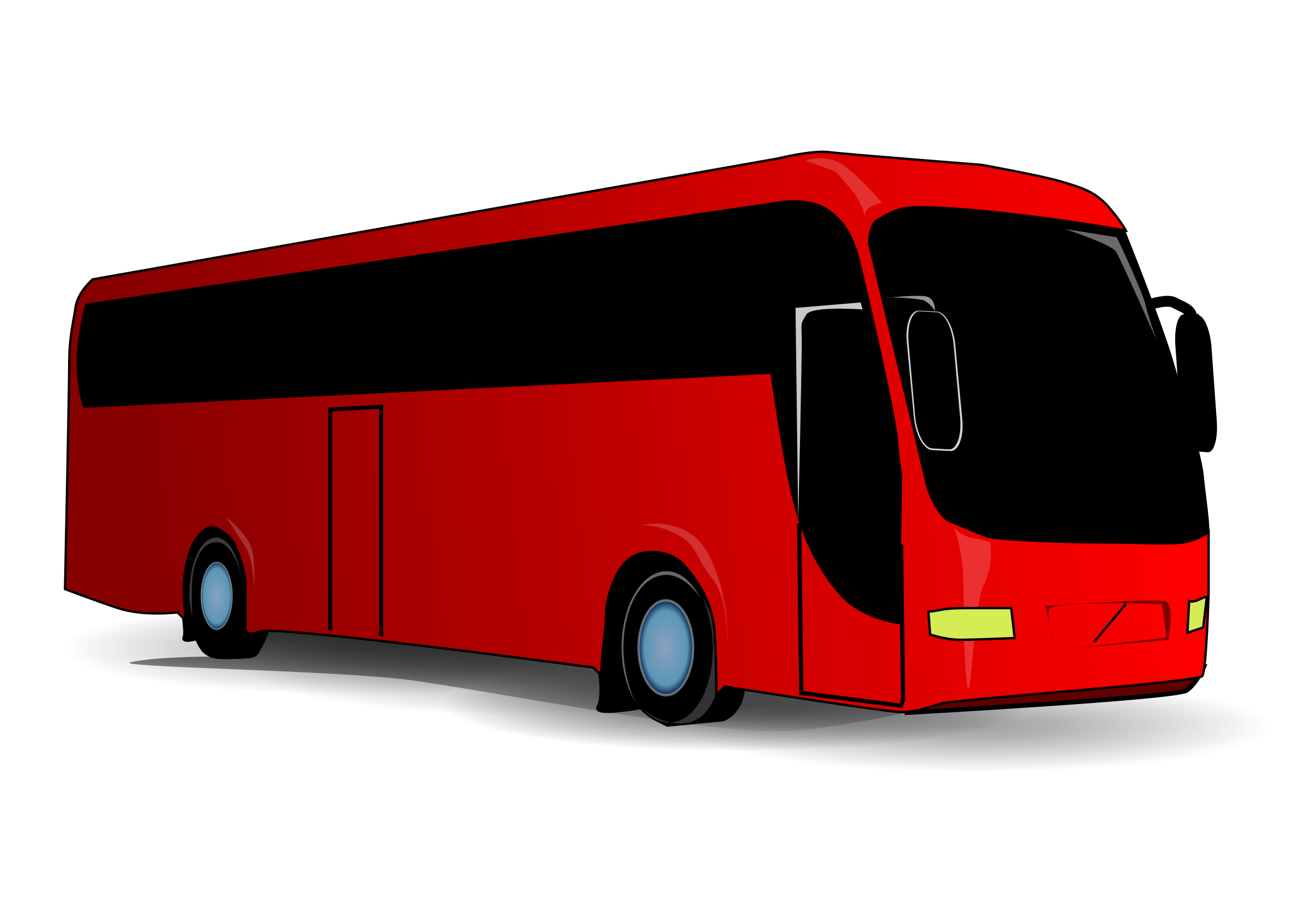 Red png free icons. Bus clipart icon